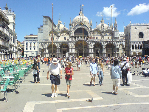 Robert Langdon was staring at St Marks basilica when he saw the clue